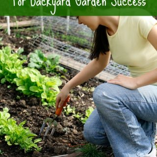 Don't miss our Gardening Tips for great Backyard Garden Success! Our garden hacks are just what you need to make gardening easy!