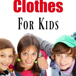 Don't miss our great tips for how to save money on clothes for kids! These are great tips for back to school and living frugally! Frugal living is all about using your brain to make ends meet!