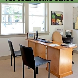 Check out our Best Organizing Tips For Your Home Office! Great ideas for using your space to make your WAHM dreams come true!