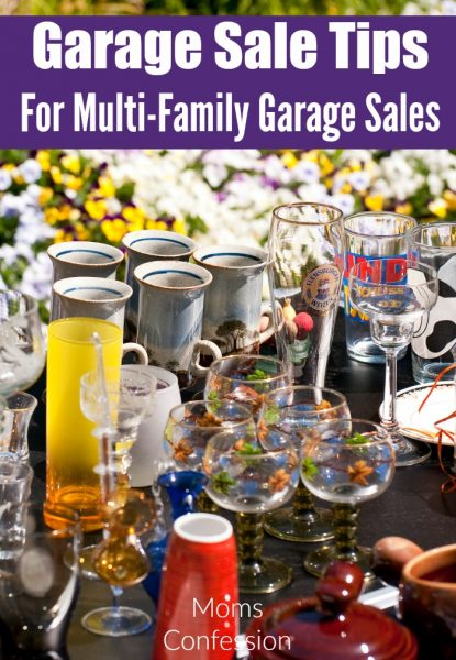 Garage Sale Tips For a Multi-Family Garage Sale