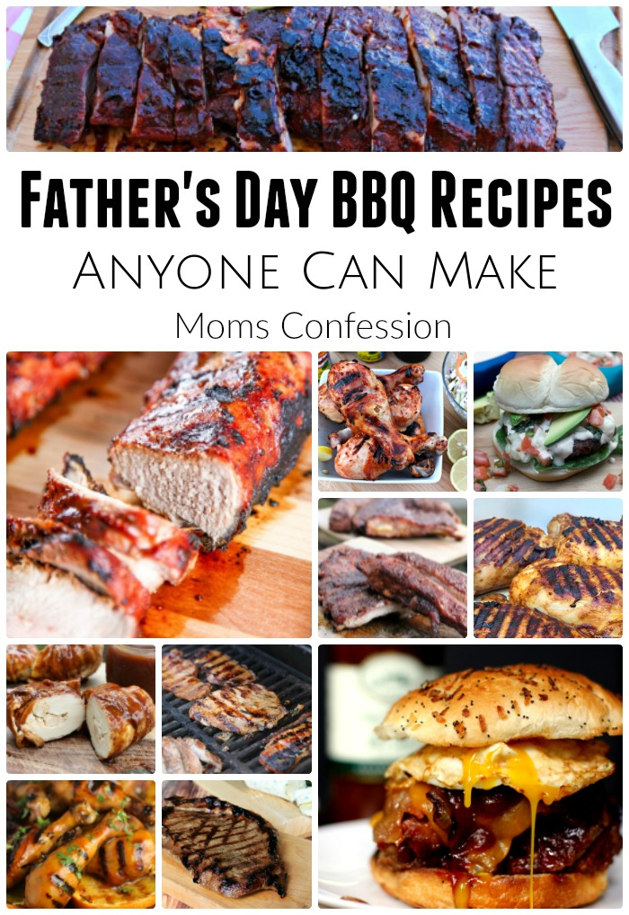 Don't miss these amazing BBQ Recipe Ideas just in time for Father's Day! Fire up the grill all summer long for these great meal ideas!