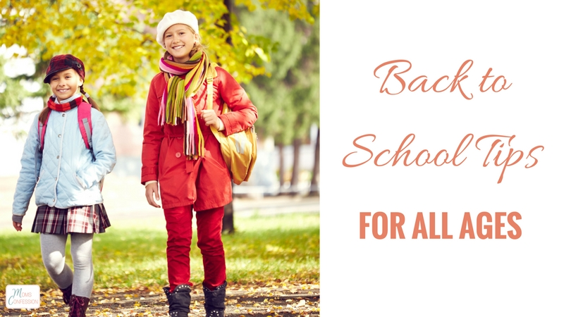 Whether your child is starting pre-school or going back to college, here are some end-of-summer back to school tips for all ages to make the back-to-school season a breeze.