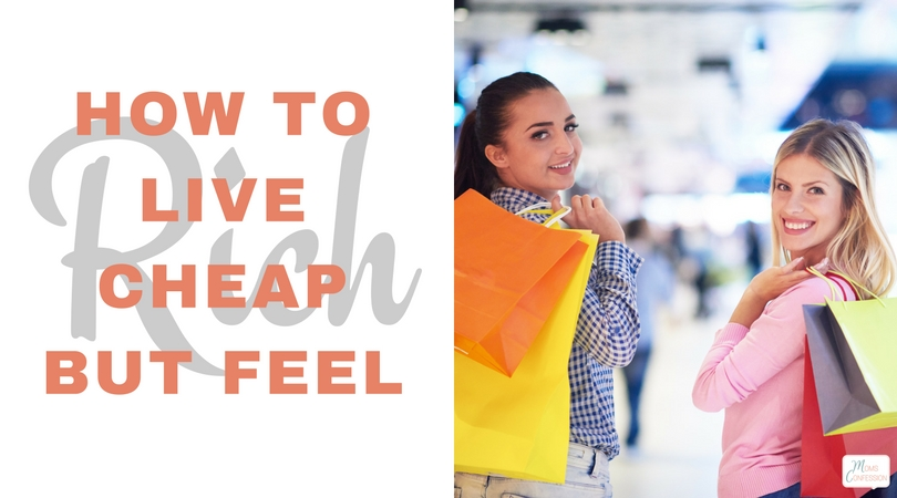 Check out these great tips for How To Live Cheap But Feel Rich! Travel, have great brand name products and still stay in budget with our tips!