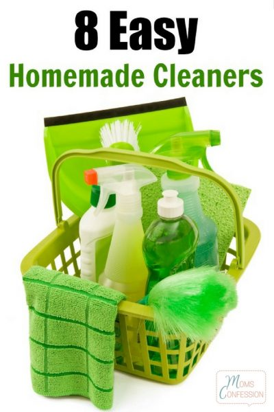 8 Easy Homemade Cleaners
