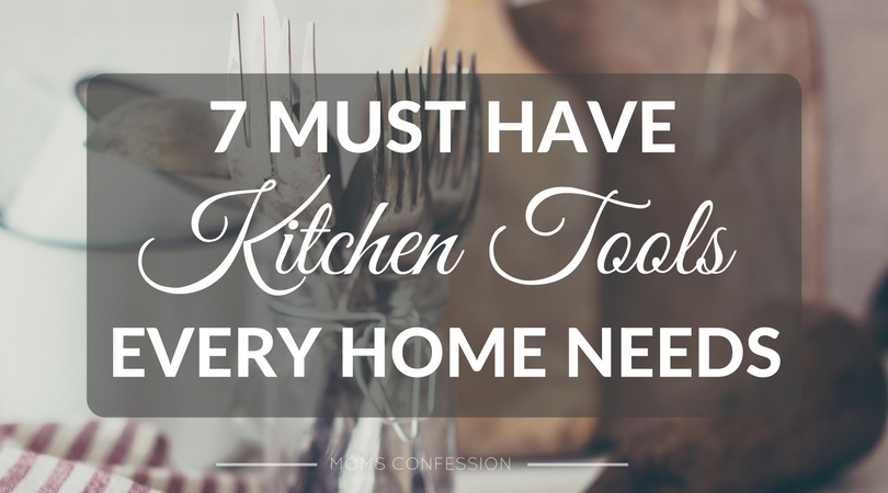 Don't miss out on our list of the top 7 must-have kitchen tools every home needs! This list will make it easy to prepare delicious meals!