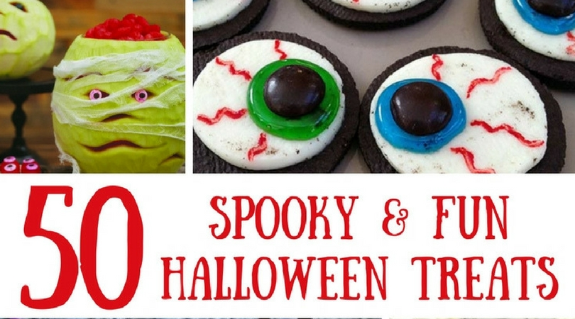 I love Halloween, but I especially love the Halloween Food! I love the spookiness, the cuteness and need I mention that Halloween food tastes amazing! :)