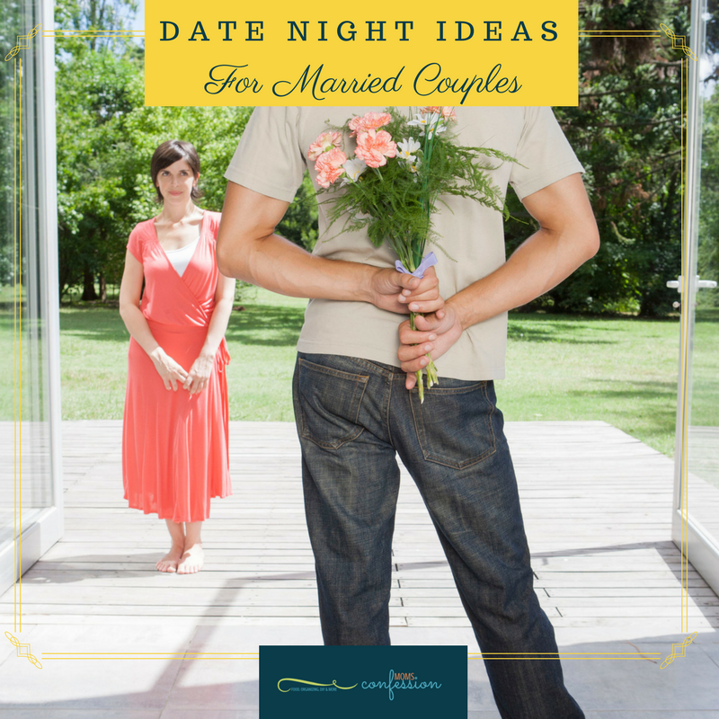 Date Night Ideas like these are perfect for married couples longing to reconnect!