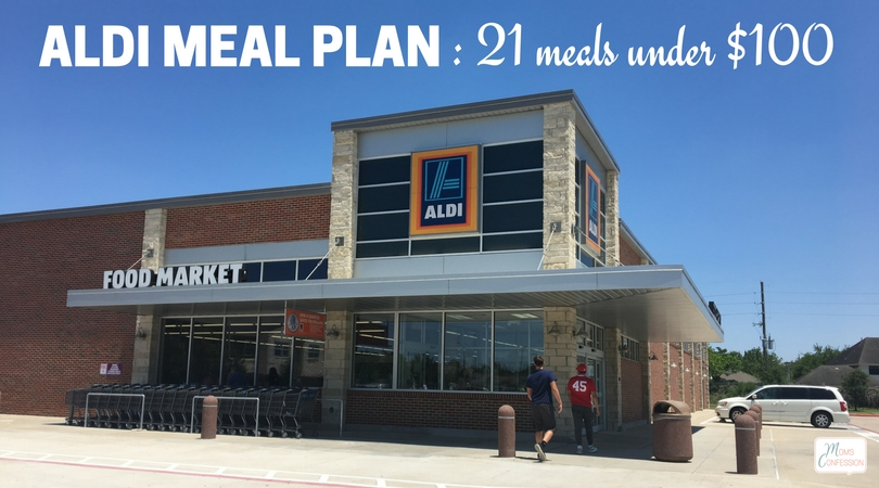 I have tried so many meal plans to get my families budget under control as I create our weekly menu, but creating this Aldi Meal Plan has been a lifesaver! See how you can make 21 meals under $100 for a family of 4! There are printable shopping lists and great meal ideas everyone will love.