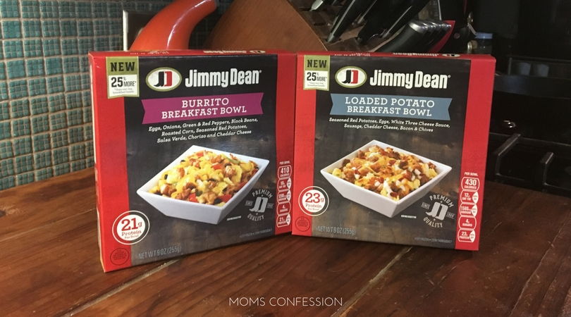 These Jimmy Dean Premium Breakfast Bowls make these 5 minute breakfast tacos so easy and delicious!