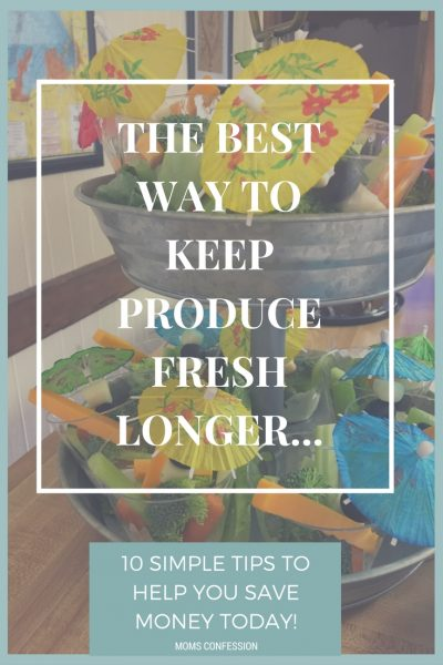 The Best Way To Keep Produce Fresh – 10 Simple Tips That Will Save You Money