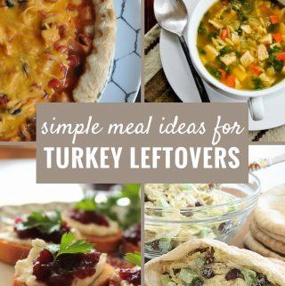 These leftover turkey ideas are delicious, unique and creative. See how the many ways you can use up all that leftover turkey from the holidays here.