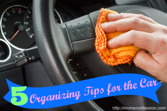 Organizing Tips for the Car