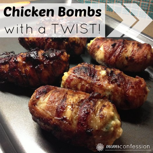 Chicken Bombs with a Texas Twist! | MomsConfession.com