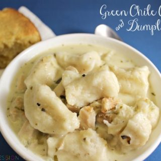 Green Chile Chicken & Dumplings