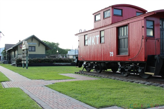 Katy Texas Railroad Park and Tourist Center