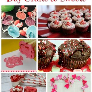 Last Minute Valentine's Day Crafts and Sweets