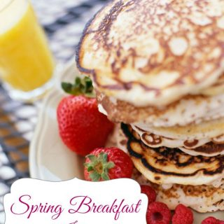 Breakfast is the most important meal of the day. Enjoy these spring breakfast ideas all season long to get the most of your meal & start your day off right!