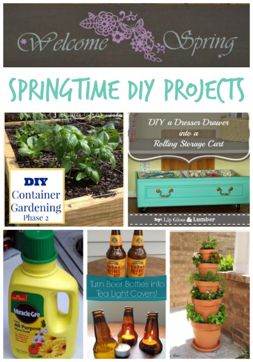 Springtime DIY Projects