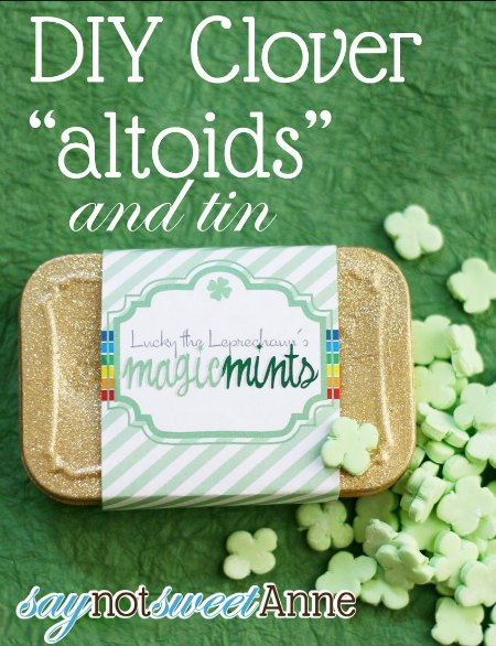 St. Patricks Day Altoids Tin
