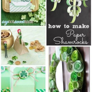 Simple St. Patrick's Day Craft Ideas - All of these St. Patrick's Day Crafts are simple and easy to make so that totally fits within my crafting skills!