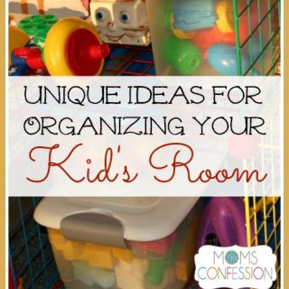 Unique Organizing Tips for your Kid's Room