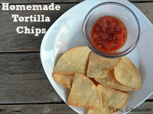Homemade Tortilla Chips Recipe — Dishmaps