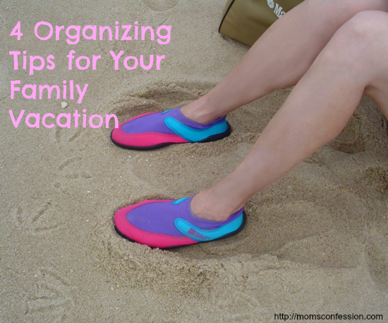 organizing tips for vacation