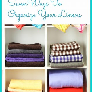 Ways to Organize Your Linens