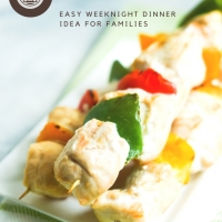 Easy Grilled Chicken Skewers with Peanut Sauce and Vegetables
