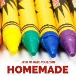 How to Make Homemade Crayons at Home with Kids