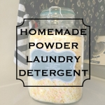 The Best Homemade Powder Laundry Detergent EVER