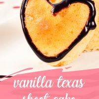 White Vanilla Texas Sheet Cake - a Texas twist you have to try!