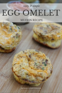 Easy Breakfast Meal Idea - Easy Muffin Tin Omelets Recipe