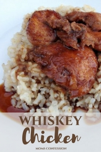 Simple Whiskey Chicken Recipe - A Dinner Idea Your Family Will Love