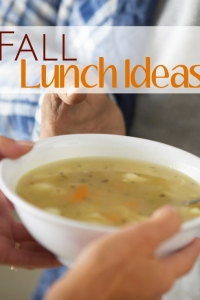 Fall Lunch Ideas