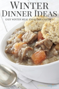 Winter Dinner Ideas