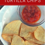 Homemade Baked Tortilla Chips Recipe Under 20 Minutes