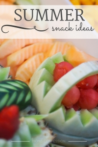 Summer Snack Ideas