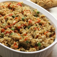 Simple & Easy Chinese Chicken Fried Rice