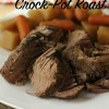 Classic Slow Cooker Boneless Chuck Roast with Vegetables & Gravy
