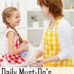 Daily Must Do's for Moms