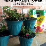 Herb Garden Planter in 30 Minutes or Less