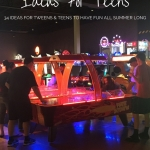 Summer Bucket List Ideas for Teens and Tweens To Have Fun All Summer