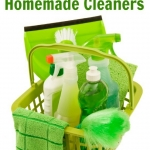 8 Easy Homemade Cleaners To Go Green and Save Money