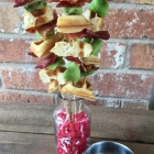 The Best Grilled Bacon Waffle Skewers Recipe