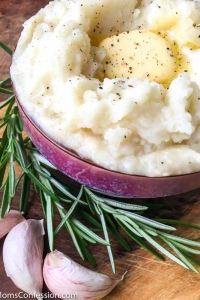 Easy Instant Pot Garlic Mashed Potatoes Recipe