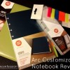 Arc Customizable Notebook Organizes Life