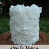 Elegant Coffee Filter Candle