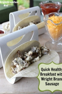 Quick & Healthy Breakfast Tacos