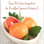 Rio Star Grapefruit is a Texas Treat